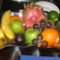 Welcome Fruit Platter in our Room