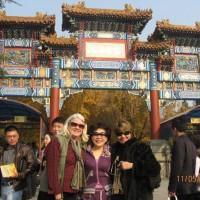 Evie, Josephine & Cathy @ Lama Temple